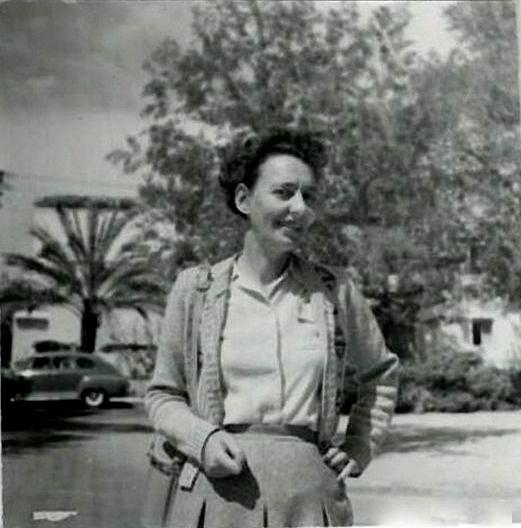 Israeli author, translator and poet, Lea Goldberg.