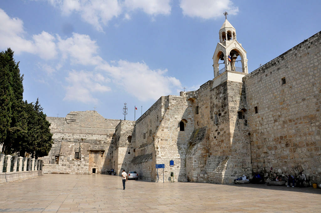 Church of the Nativity, Bethlehem. Photo: Neil Ward