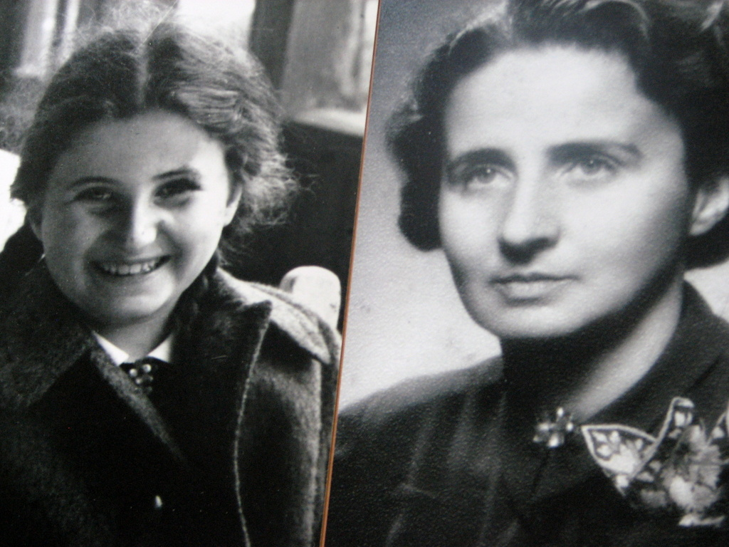 Eva's younger sister Vera Silbestein, and her mother Elisabeth Silbestein. Both perished in Auschwitz in late 1944, approxinately 2 weeks apart.