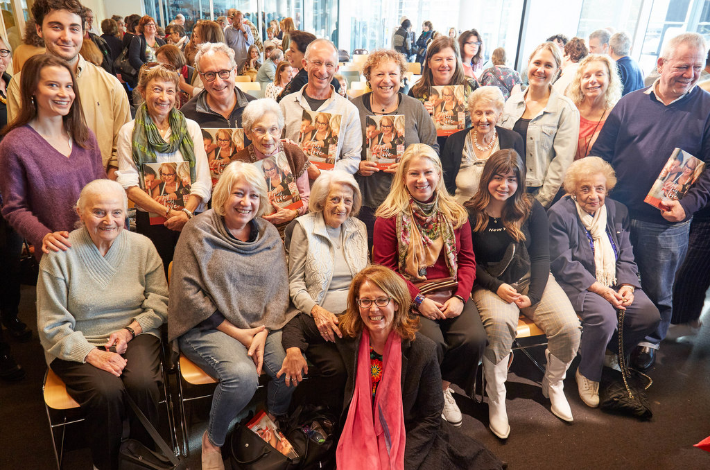 Just Add Love, Sydney book launch, 5 May 2019. Grandmothers from the book and their families in attendance!