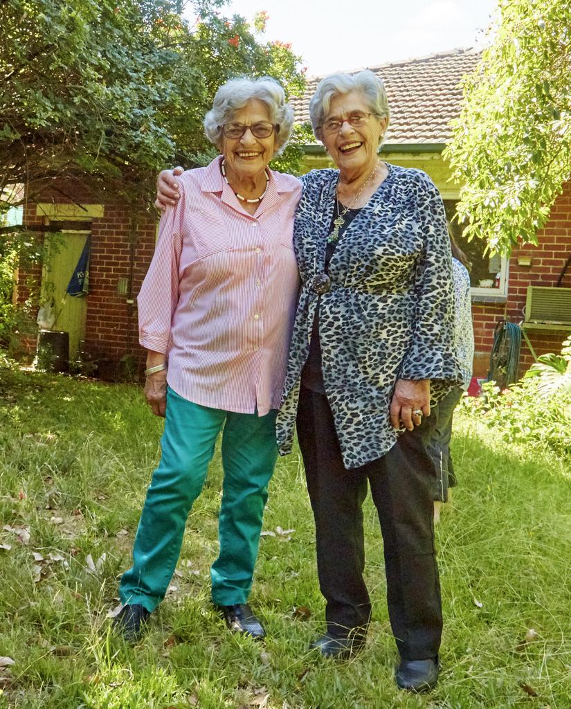Stephanie Heller and Annetta Able, Melbourne, 2016