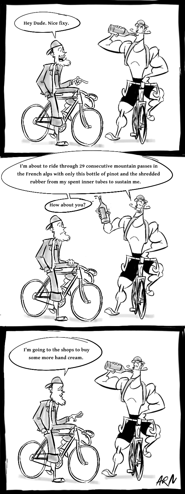 Hipsters and Fixies