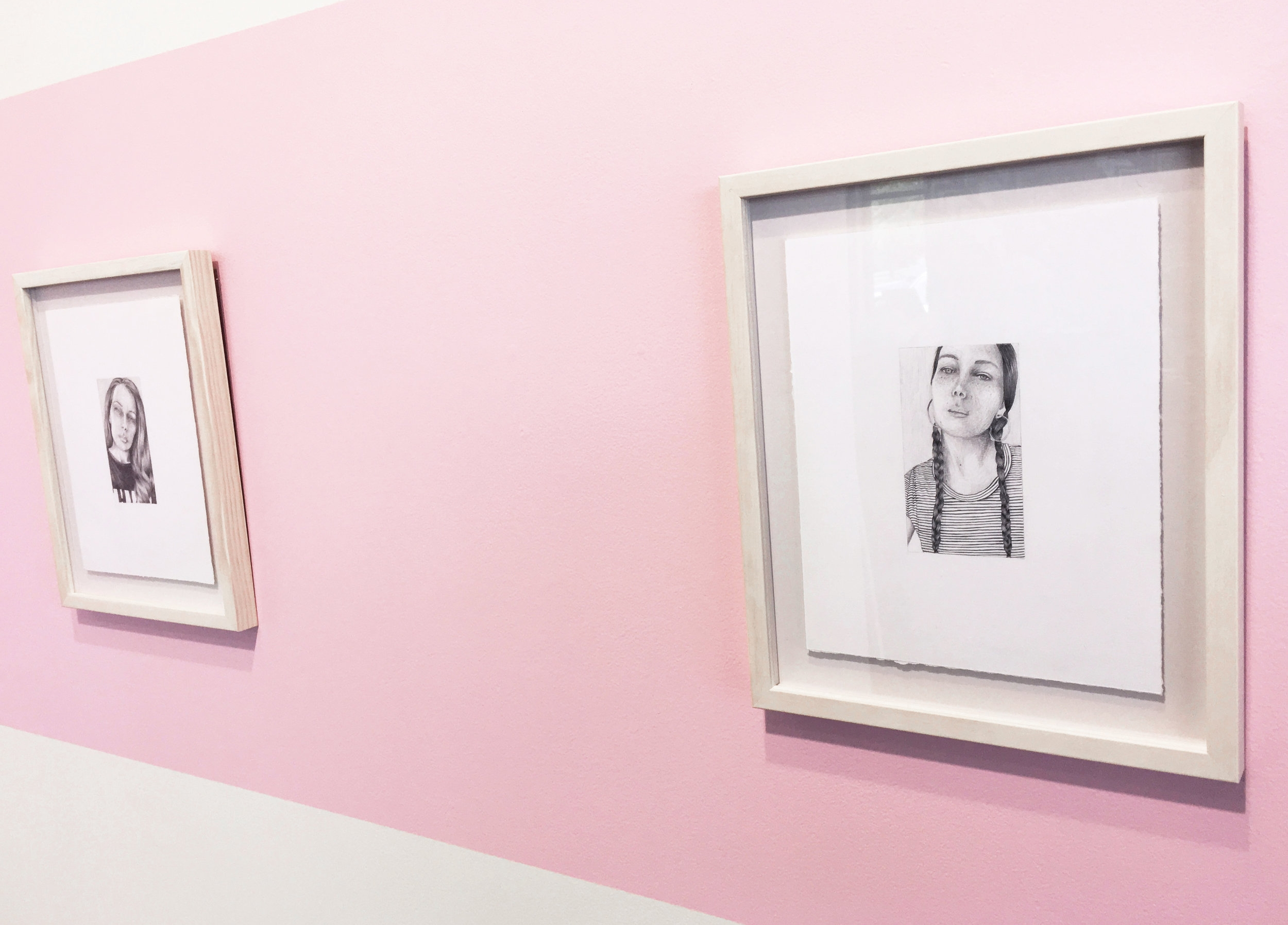 Installation View, The Framing Workshop.