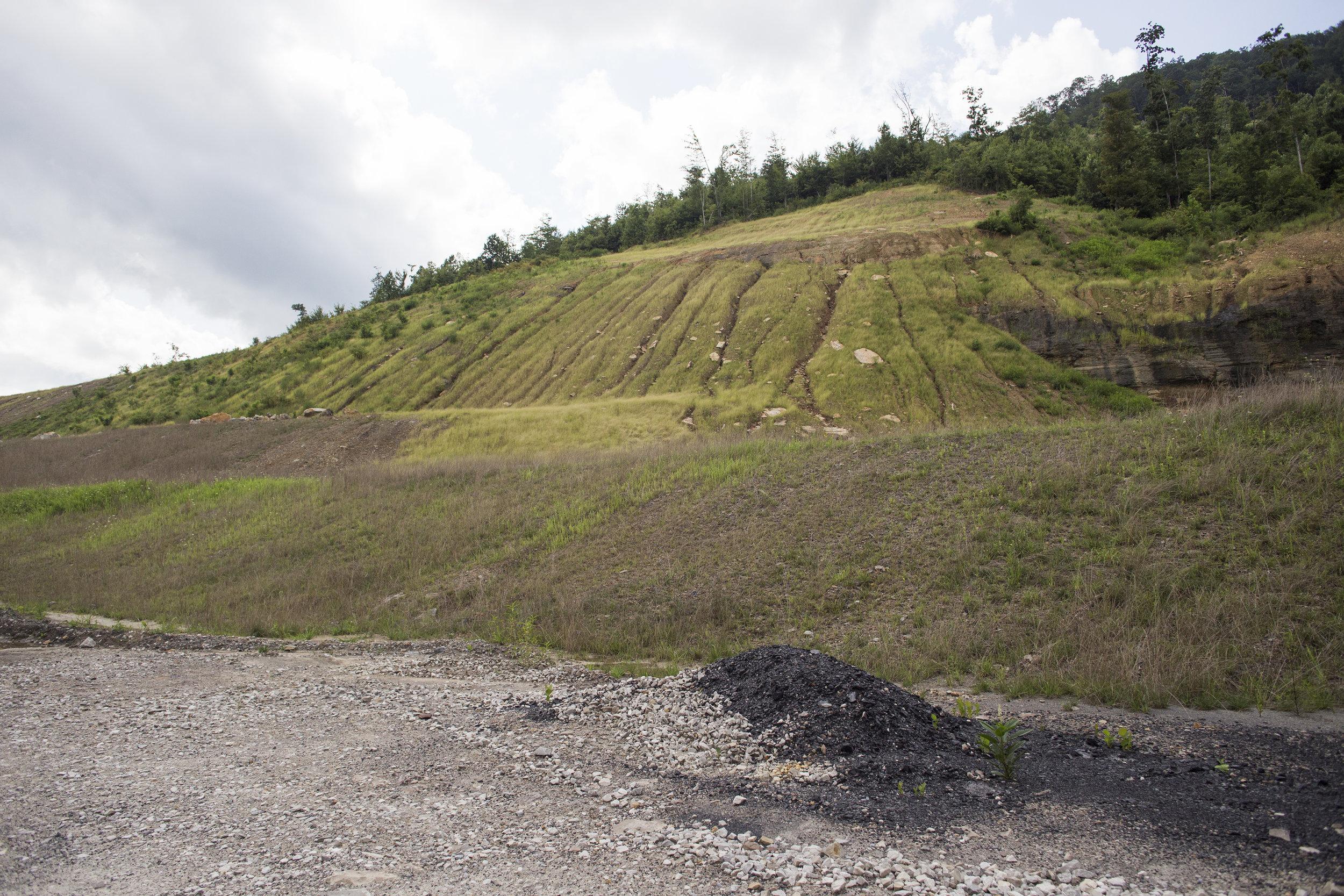 A Strata Mining surface mine in Eagan, Tenn., August 16, 2017.