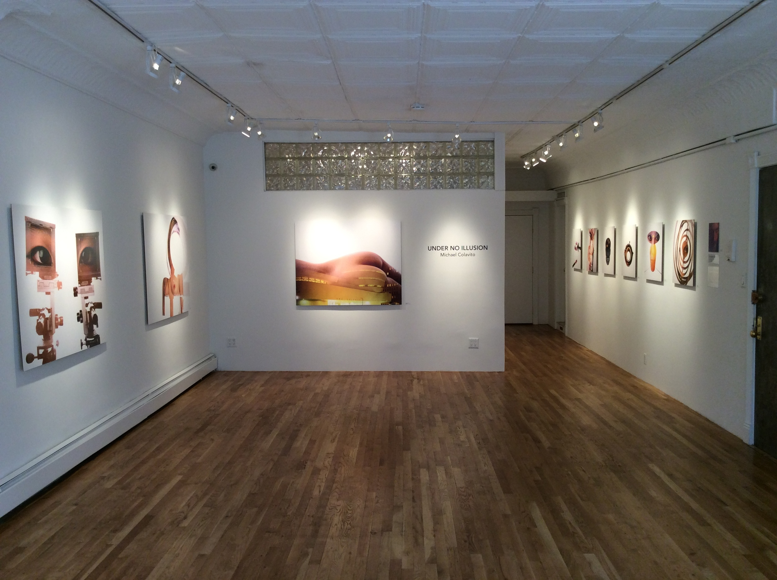UNDER NO ILLUSION - INSTALLATION VIEW.JPG