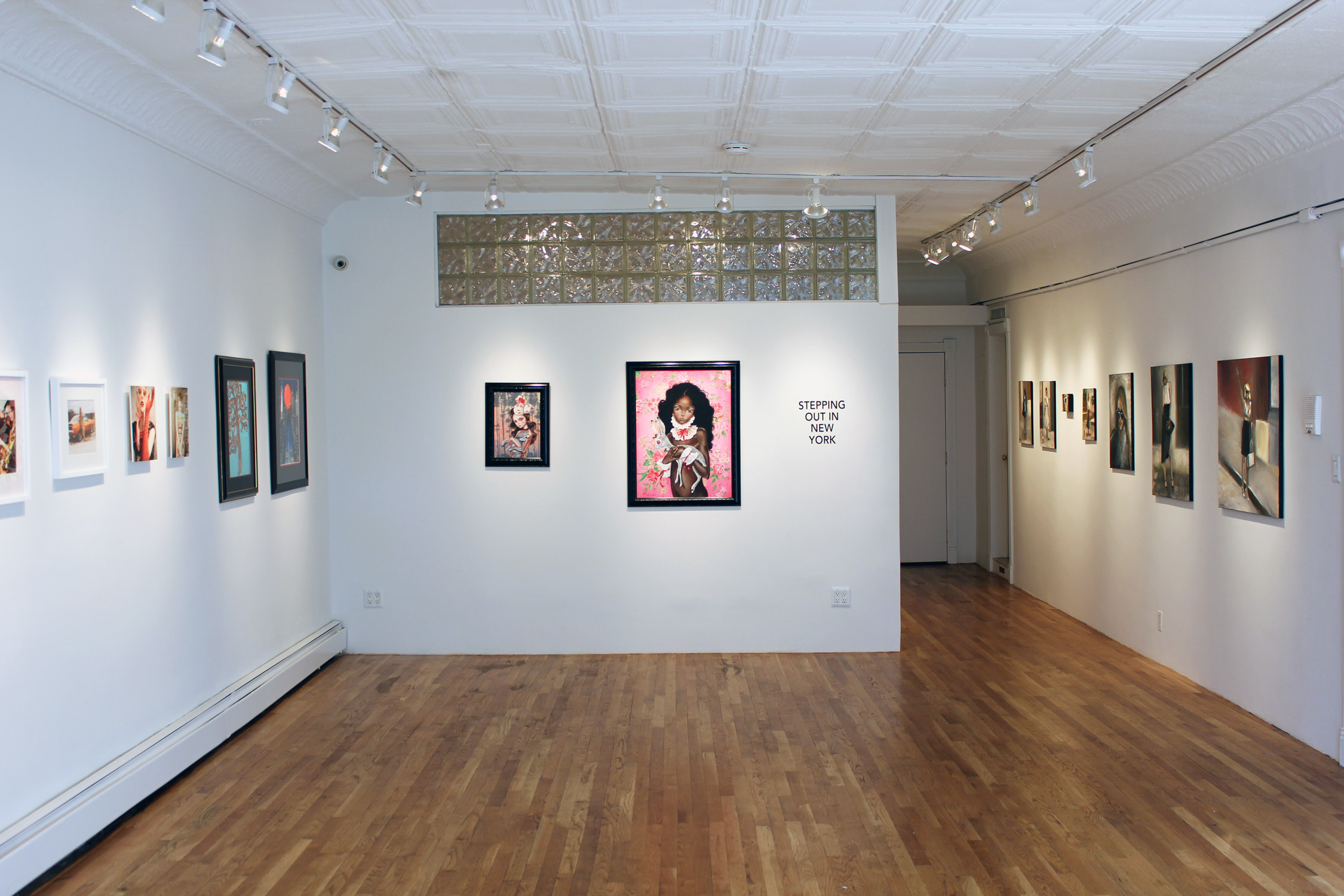 STEPPING OUT IN NEW YORK - INSTALLATION VIEW