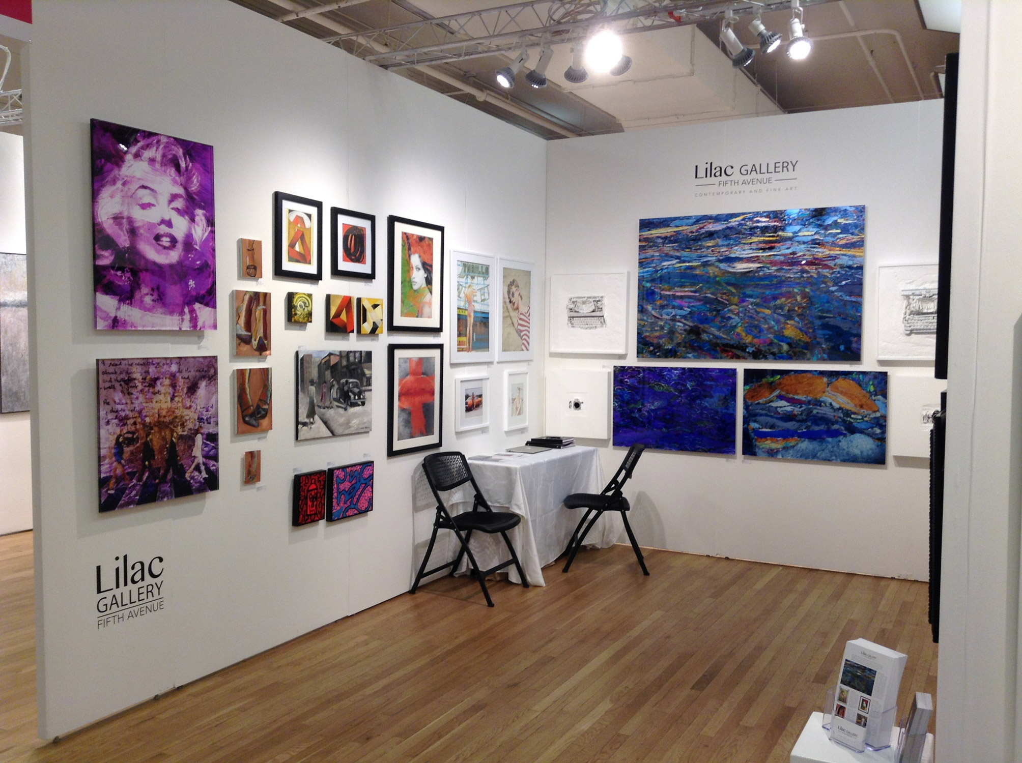 AFFORDABLE ART FAIR NYC Spring 2015 - INSTALLATION VIEW
