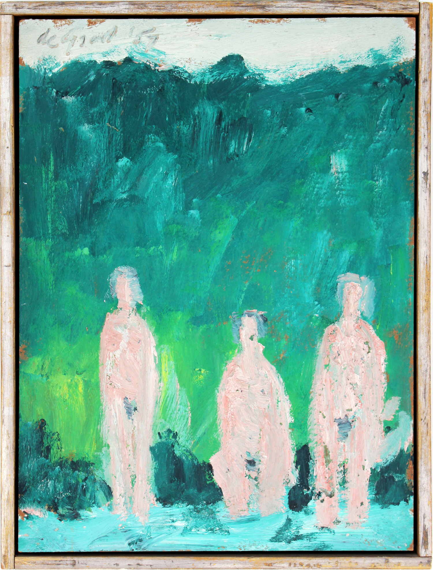 Three Figures in a Landscape, 1957