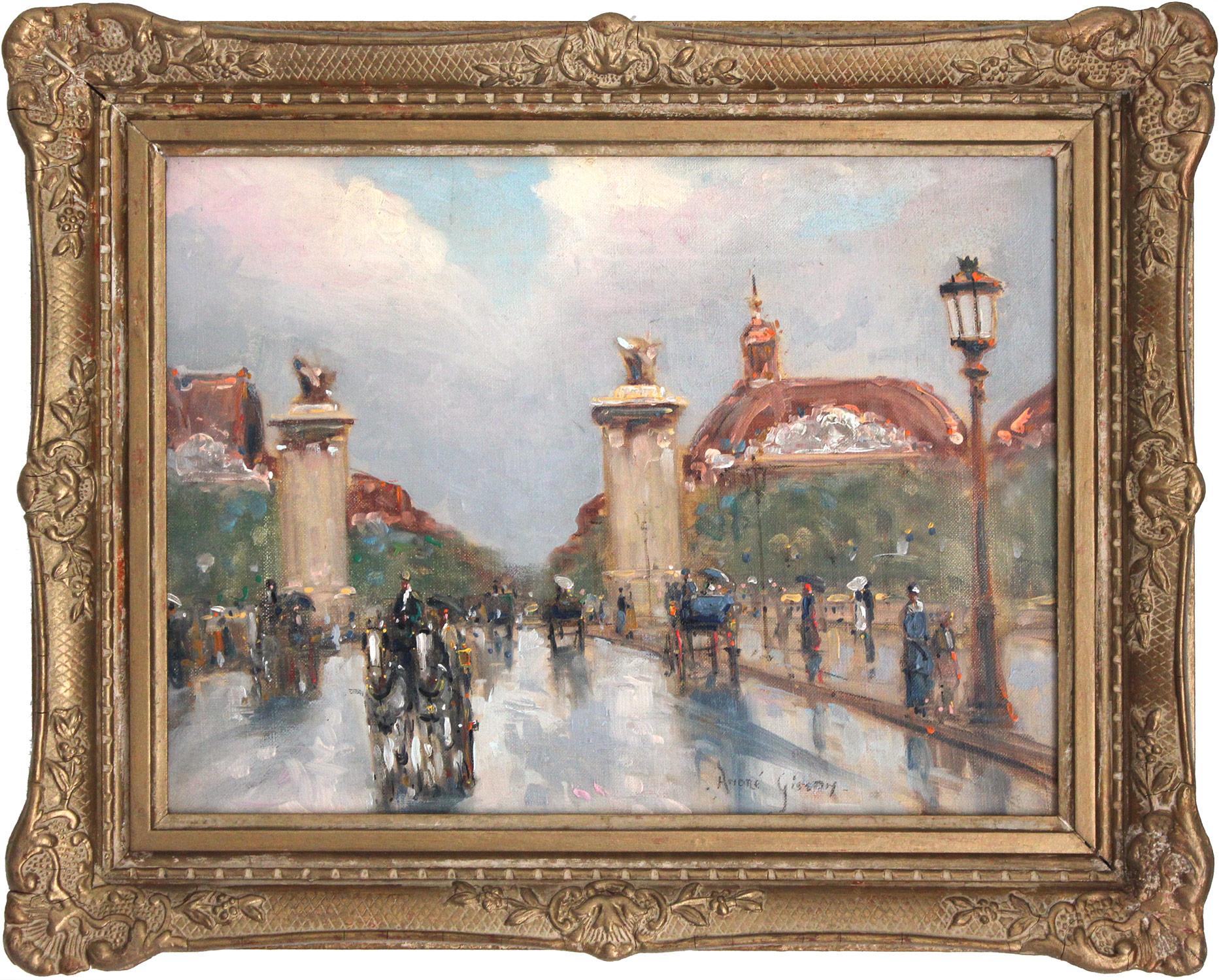 Paris Street Scene, 20th Century