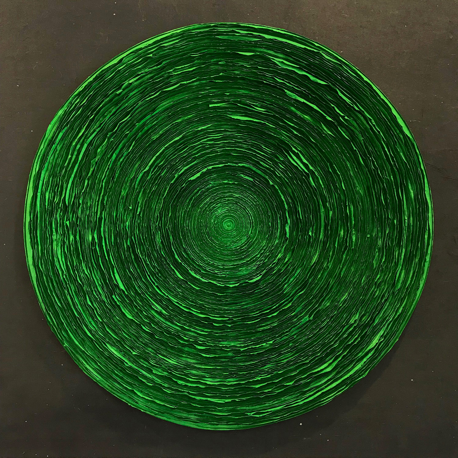 Wave (Emerald Green), 2015