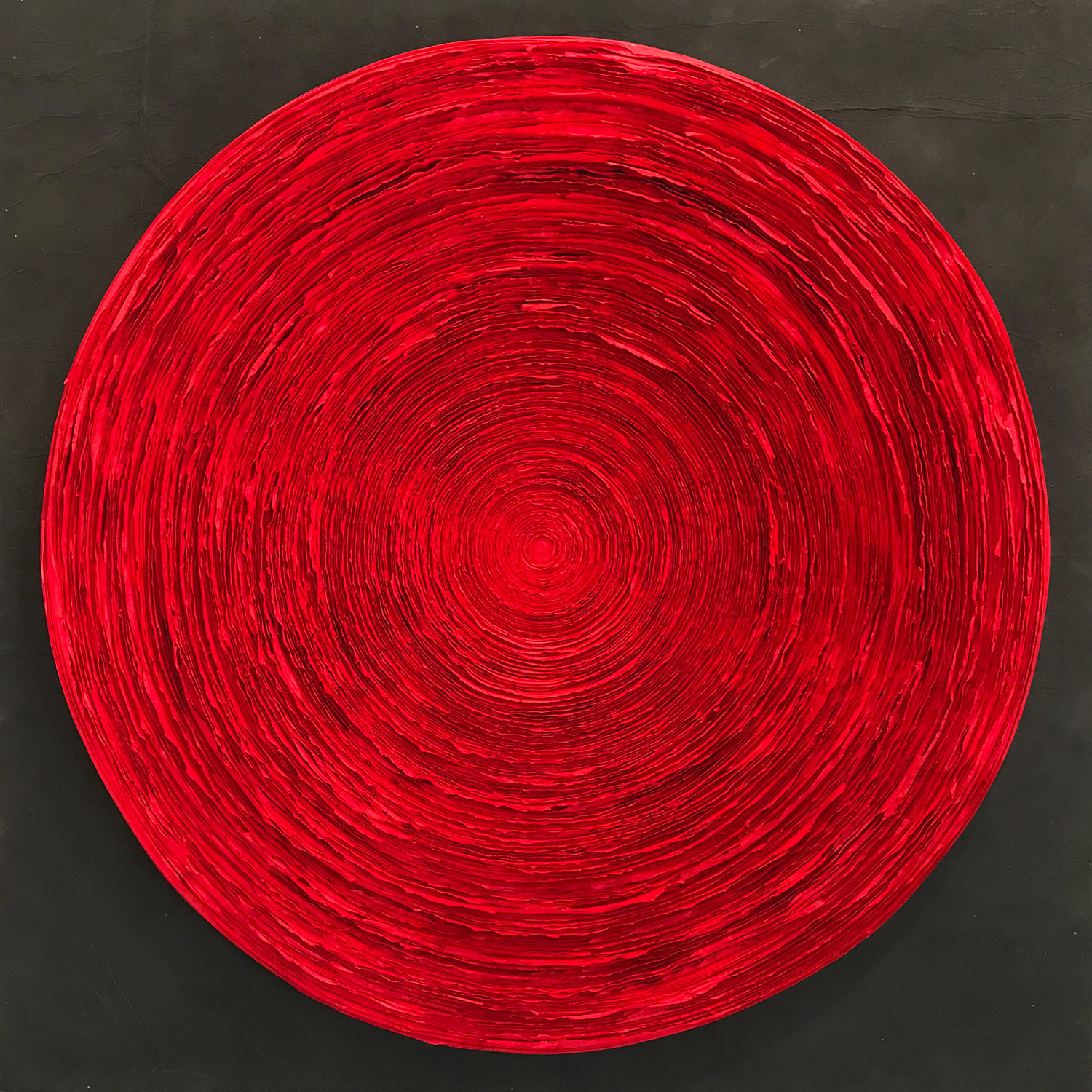 Wave (Rose Red), 2015