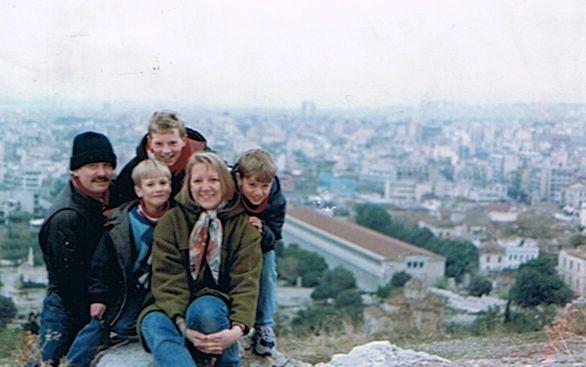 1994 Athens on the way home to Australia