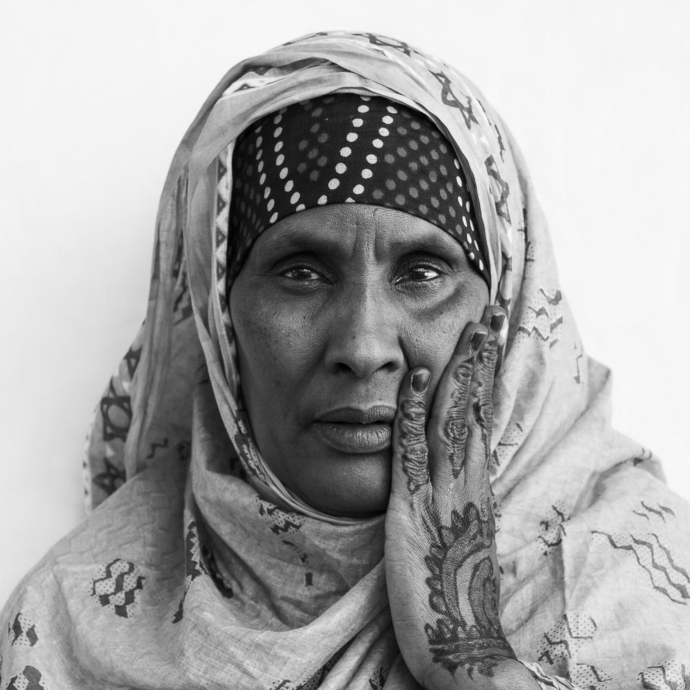 Roqio from Somalia  at home in Sydney, Australia