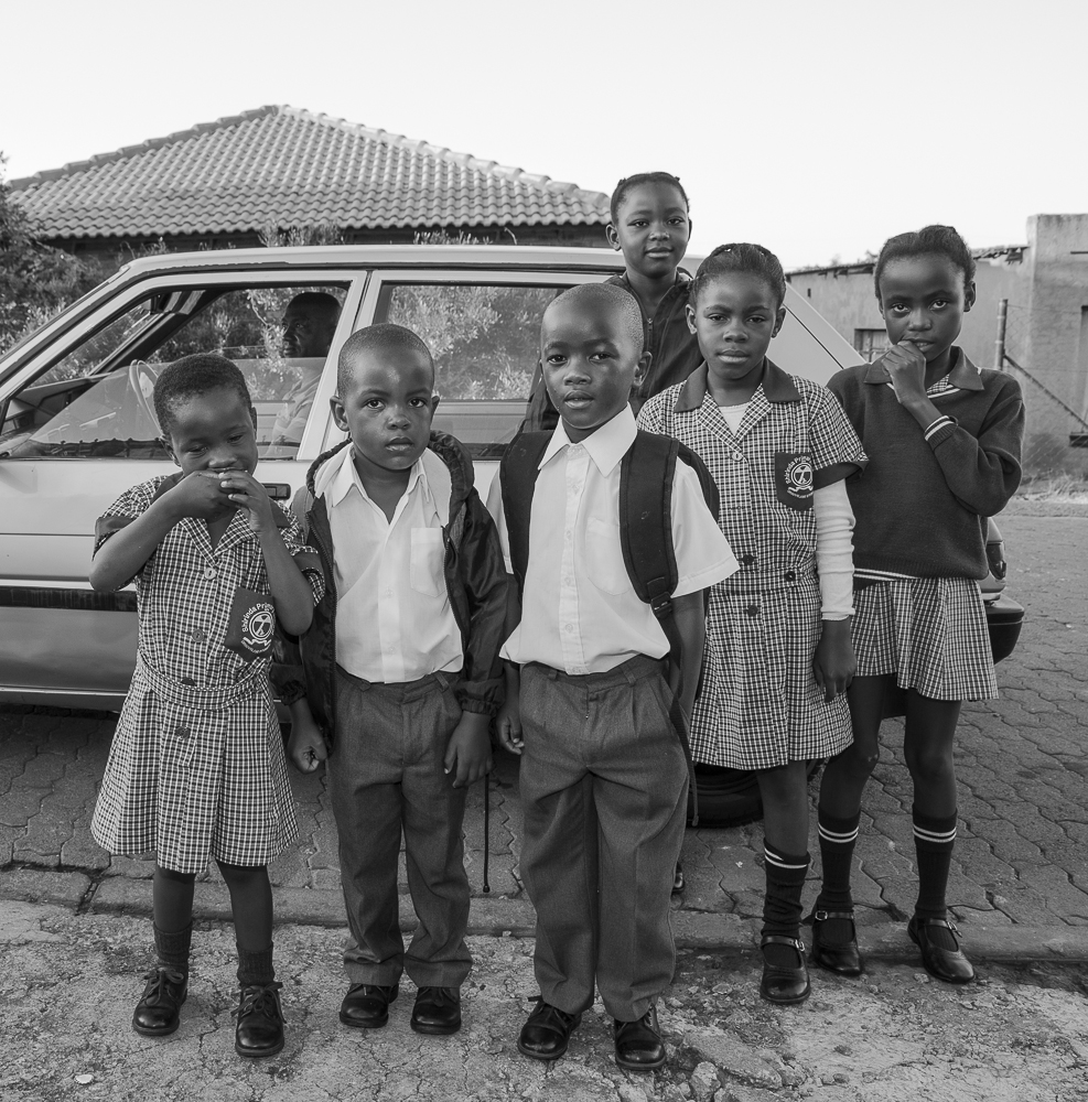 Tiny and friends - Mamelodi, South Africa