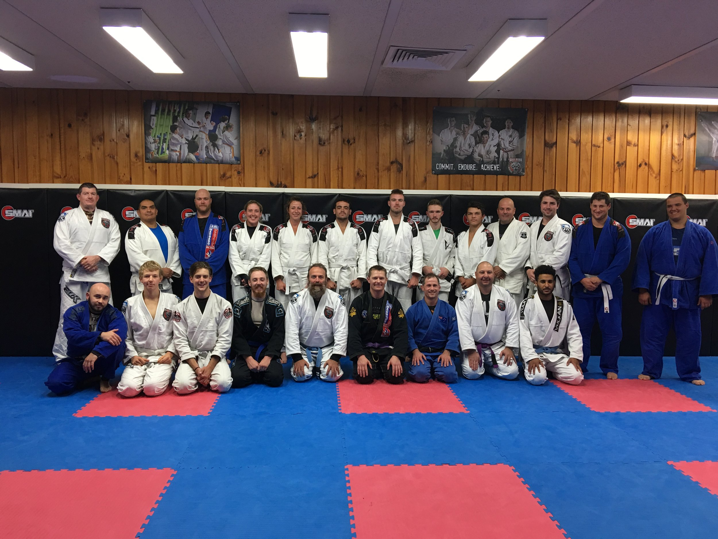 Our Adults Brazilian Jiu jitsu program is humming along with our biggest white belt grading to date (Image of a recent seminar). Thanks so much for everyone for being part of the team. I will try and find an image of the grading for you. Thanks for your efforts and congratulations.