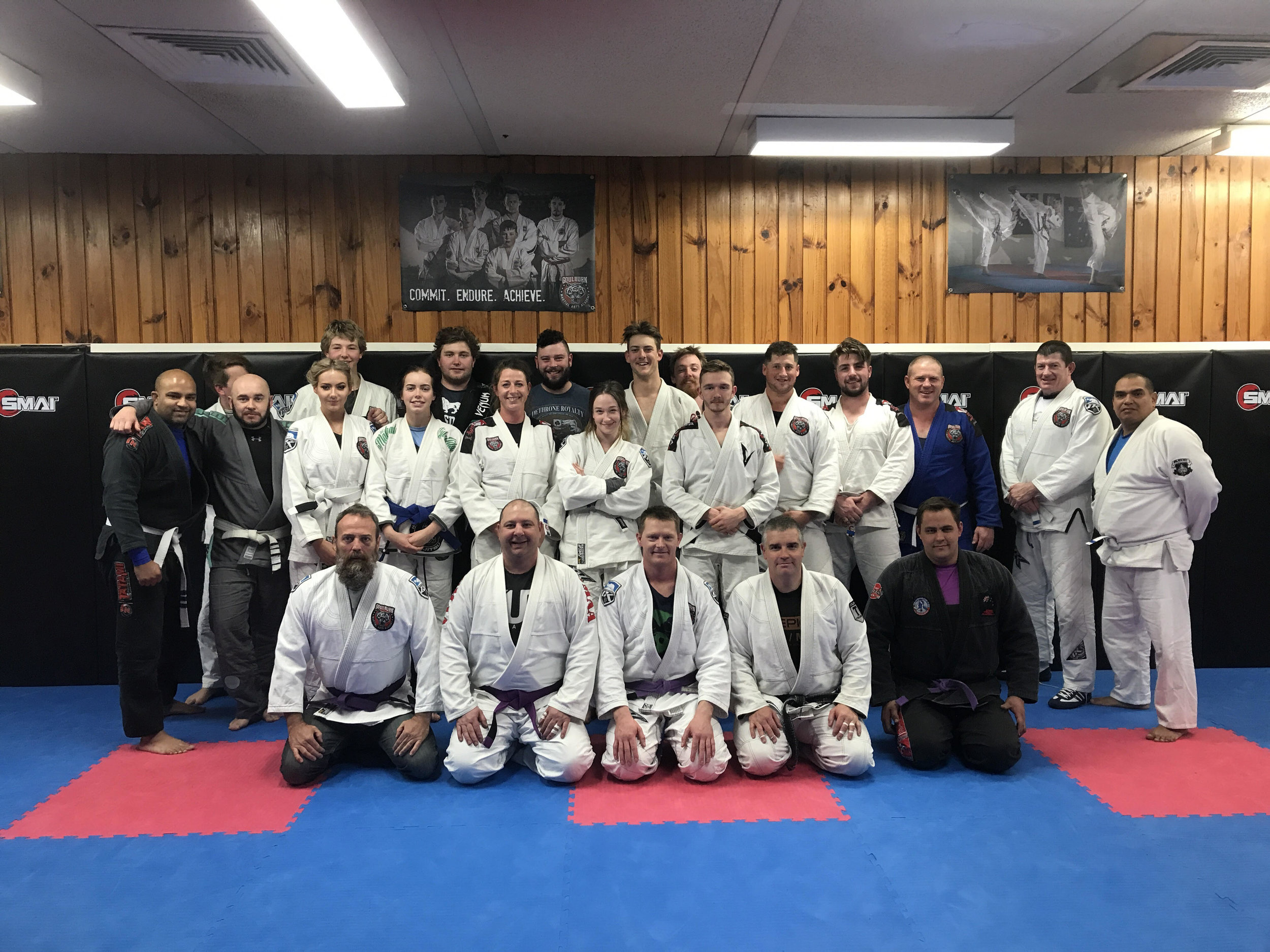 We were lucky enough to have our Balck Belt Coach Danny weir come and share the mats with us again as well as Machado Team mate Scott Cunningham. While over here Danny Wrapped a flash new purple belt on our OG Floop. I want to congratulate you mate many years and hard work have gone into this new rank as well as a fresh new purple eye.  Well done!