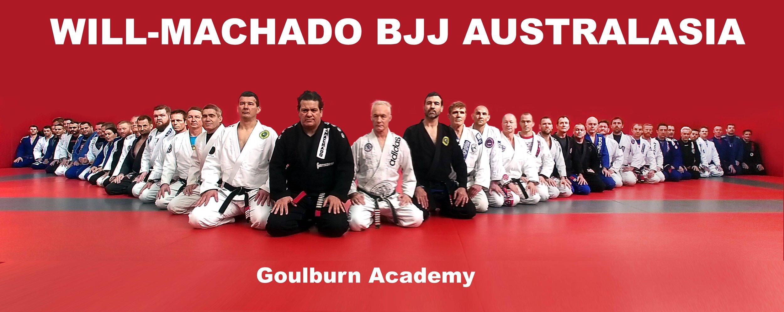 The Black Belts Of Machado In Australia With Master Rigan Machado