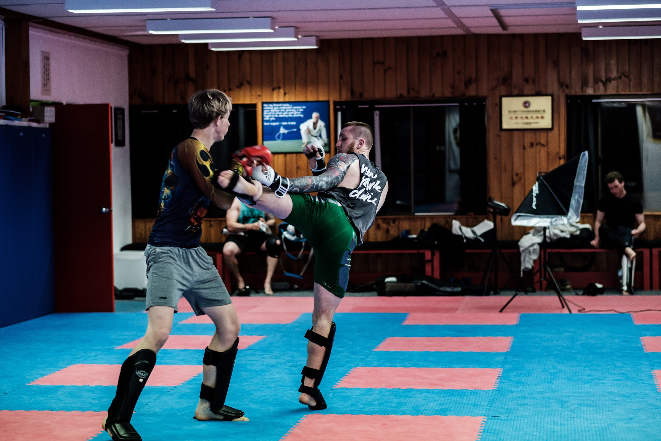 kickboxing is going to take a competition edge this term.