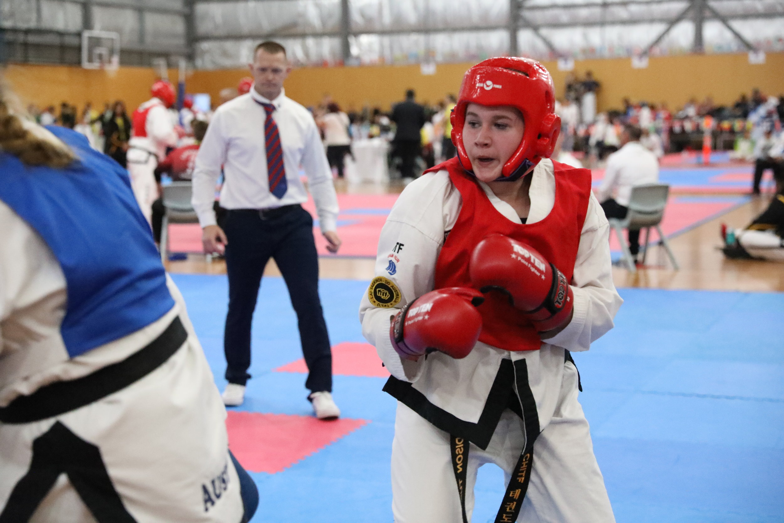 Maddie Turner  1st Degree black belt and World Championship bronze medalist, Maddie is developing into an integral part of the team.