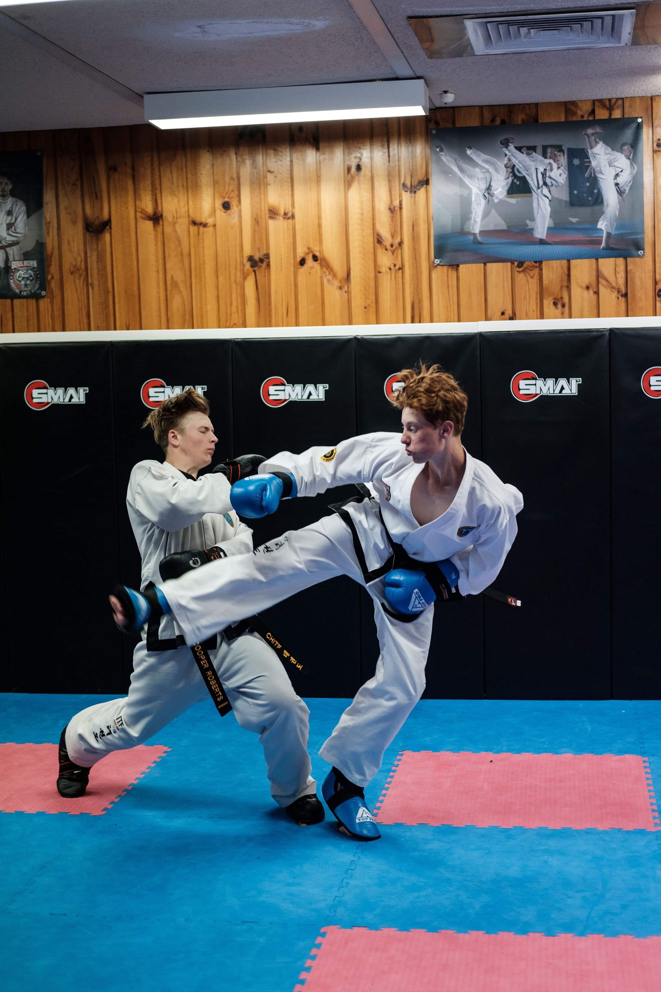 Thomas Harmer has become a 2 x Australian Champion and a silver medalist at the World Championships. Currently a 1st degree black belt.  Tom has been born into the martial arts lifestyle and is beginning to understand that it is about helping others and not what you can take from the art.