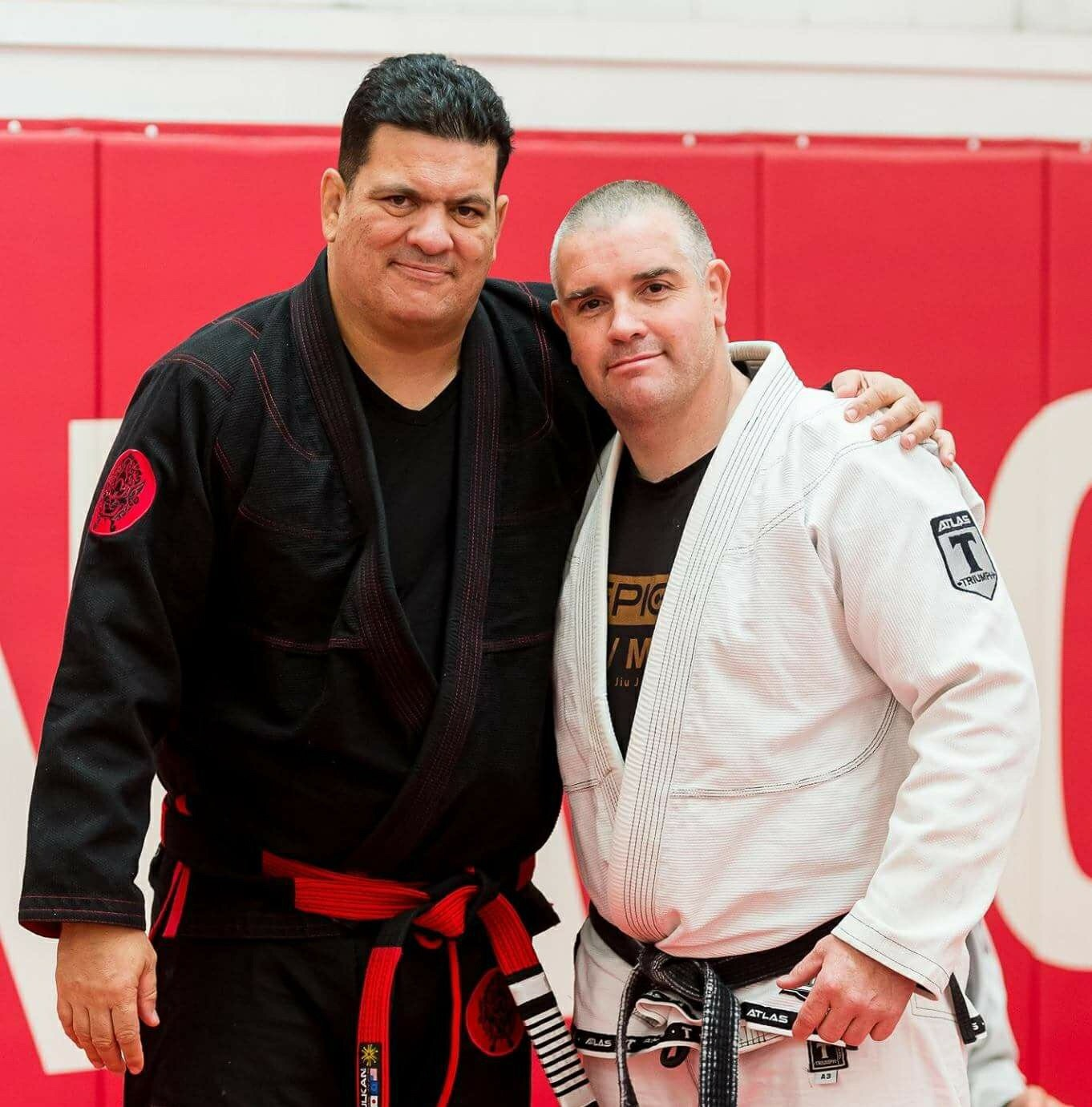 Rigan Machado and Danny Weir