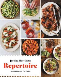 """Repertpoire"" 2018 - Repertoire by Jessica Battilana is a collection of real life recipes for the home cook. As the main recipe tester, developer, and editor besides Jessica herself, I helped craft rock-solid delicious and seasonal recipes that anyone can reproduce."