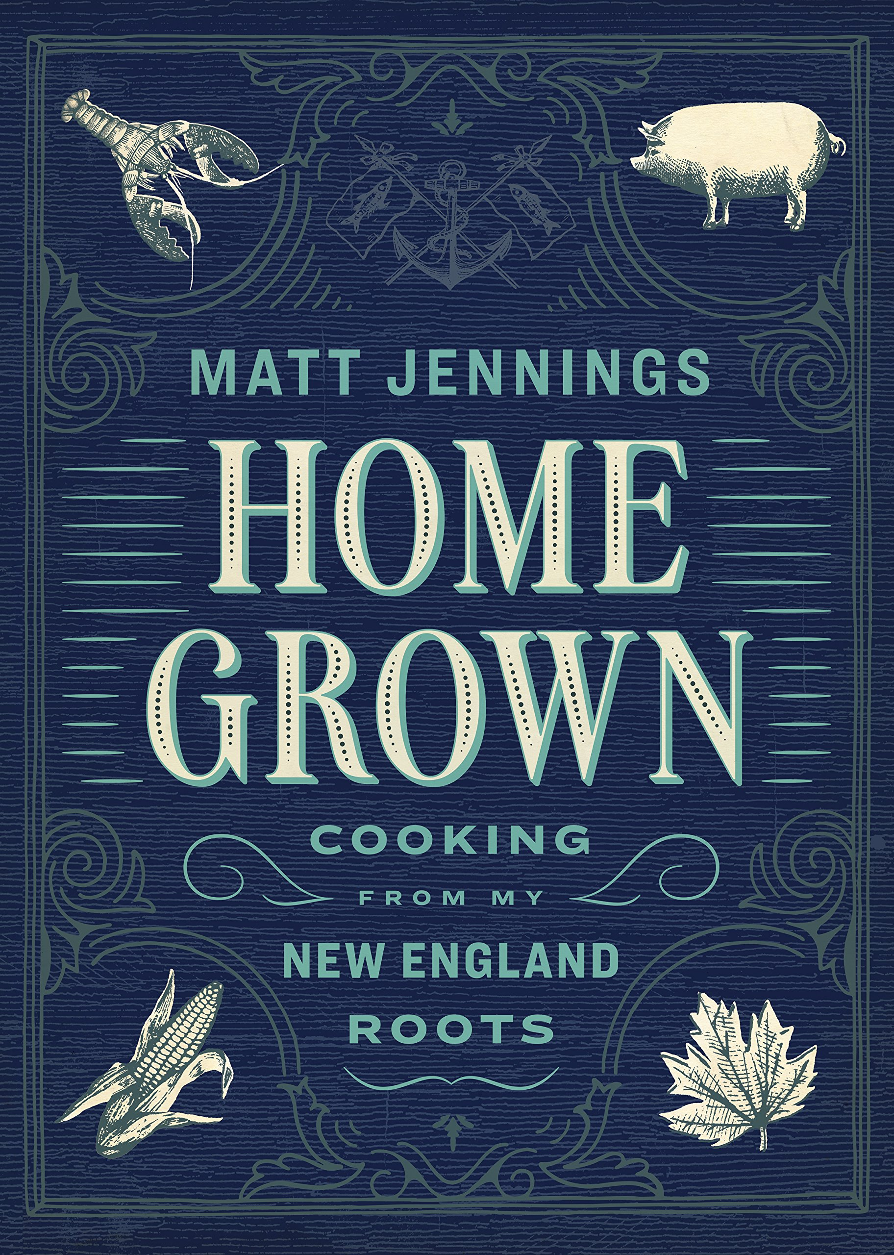 """Homegrown"" 2018 - Matt Jennings, the author, created a chronicle of his restaurants recipes called Homegrown. I extensively tested and retested recipes for this award winning cookbook published in 2018."