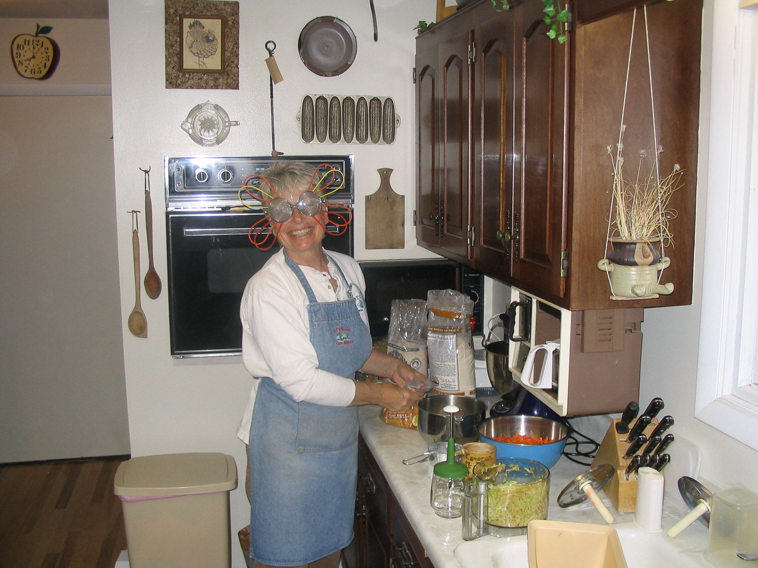 in the kitchen with Judy.jpg