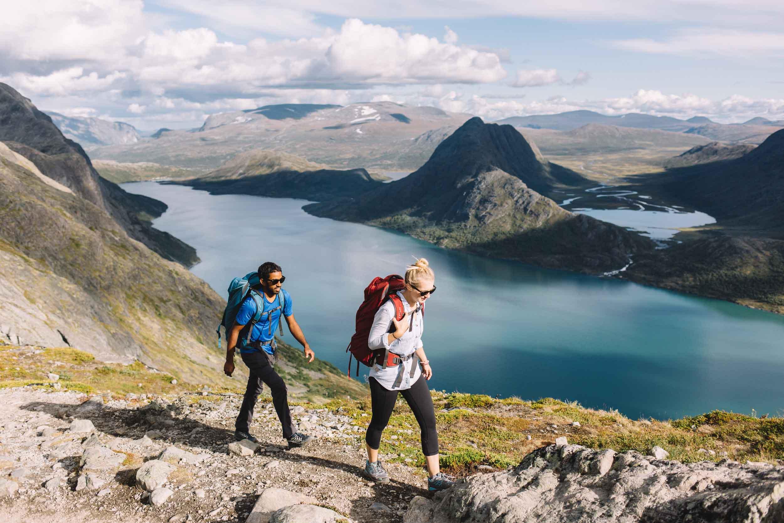Bessegen Ridge, Norway