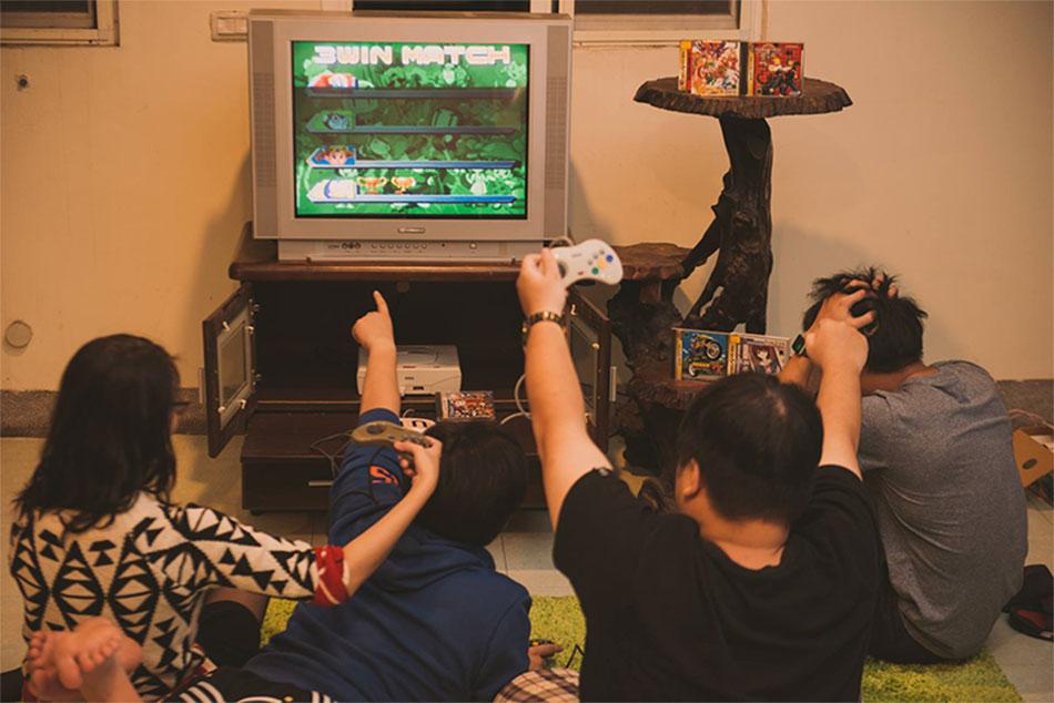 在網路遊戲之前的光景