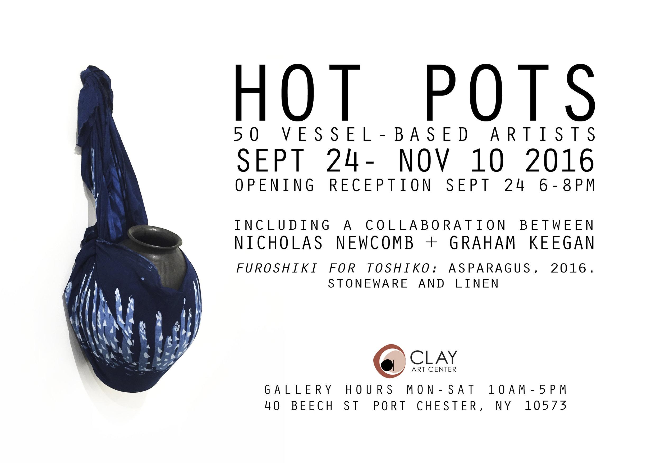 Hot Pots Exhibition