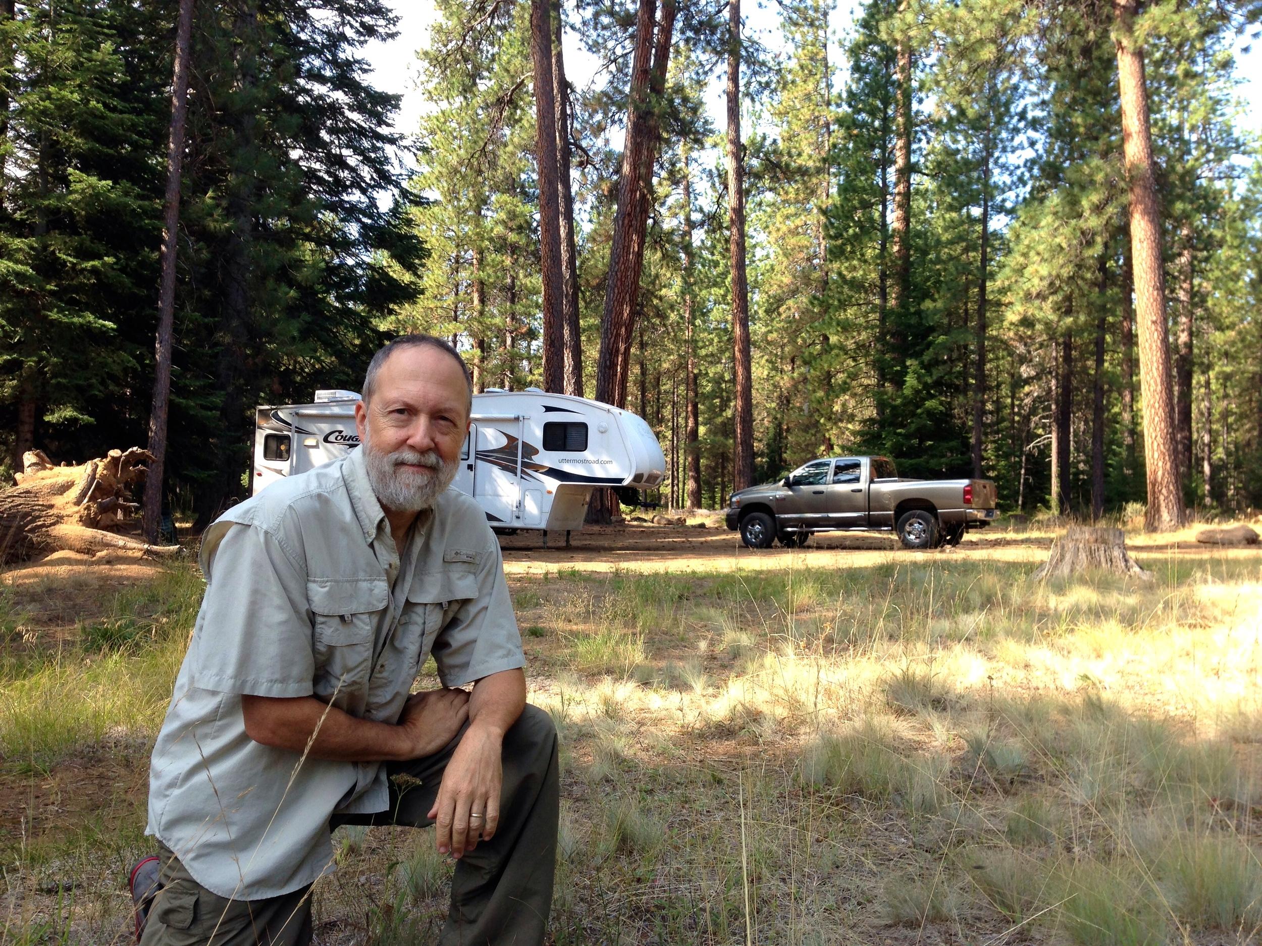 """Dispersed"" camping near Jack Creek"