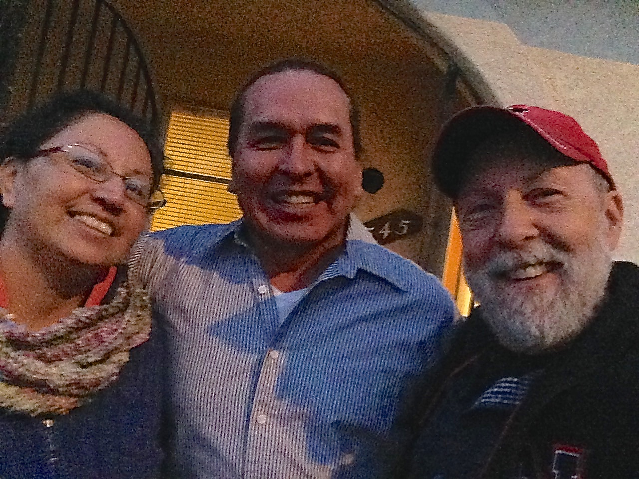 Caught up with Nathan and Veronica Enick from the Crow Rez but now live in Albuquerque, NM where they minister to the homeless.