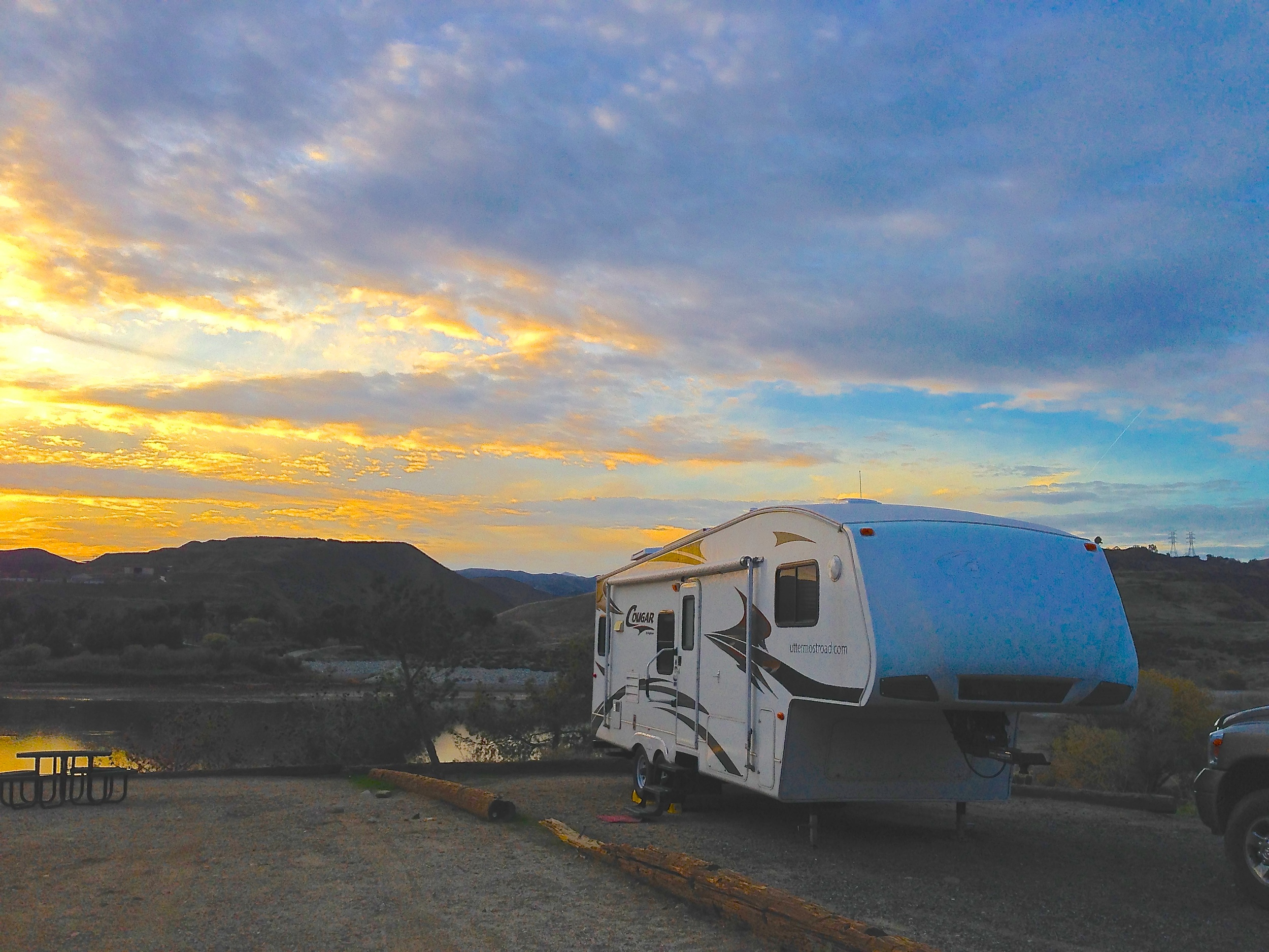 Castaic Lake, California (December 19-20)