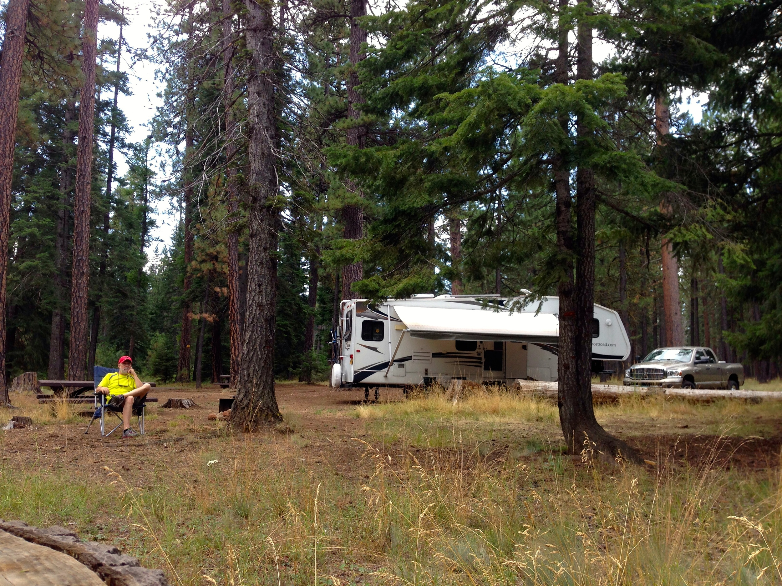 Jack Creek Campground in central Oregon (August 14-18)