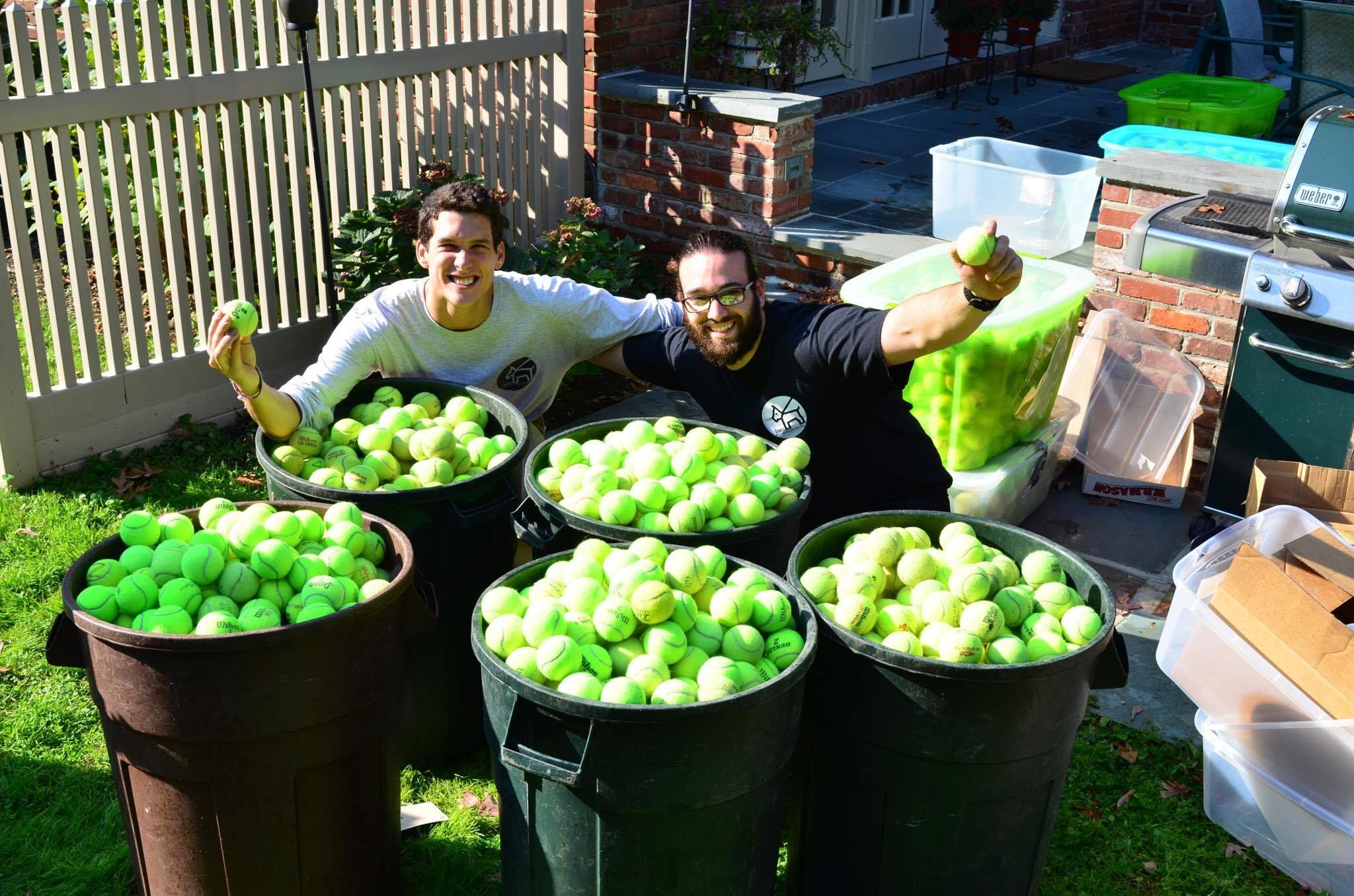 Daniel Reitman and Mauro Carignano Tennis Balls for Everything.jpg