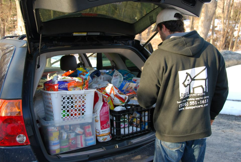 Daniel Reitman dropping off Donations.jpg