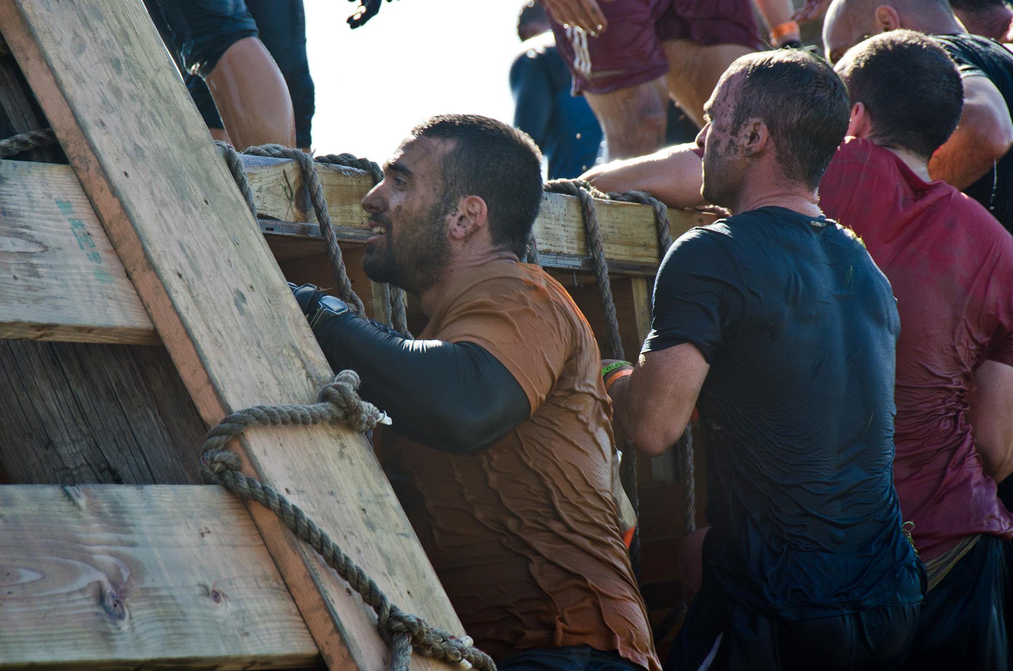 Daniel Reitman climbing during Hope For Hope Tough Mudder.jpg