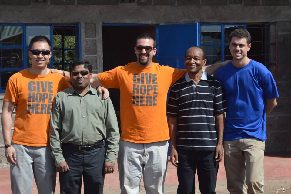 Daniel Reitman, Chipeng Liang, Henry Klion in Kenya at Hope For Hope Project.jpg