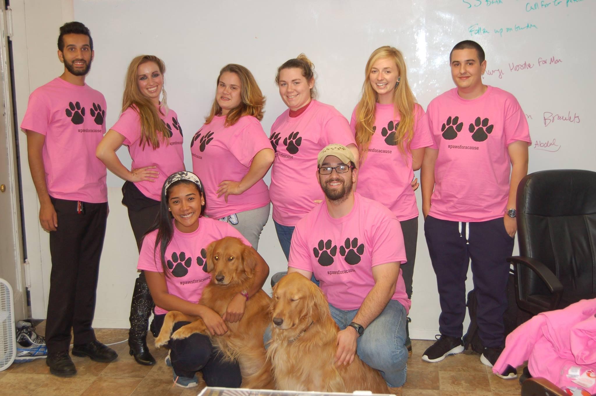 Daniel Reitman, Breast Cancer Fundraiser with Dan's Dog Walking and Pet Sitting Team.jpg