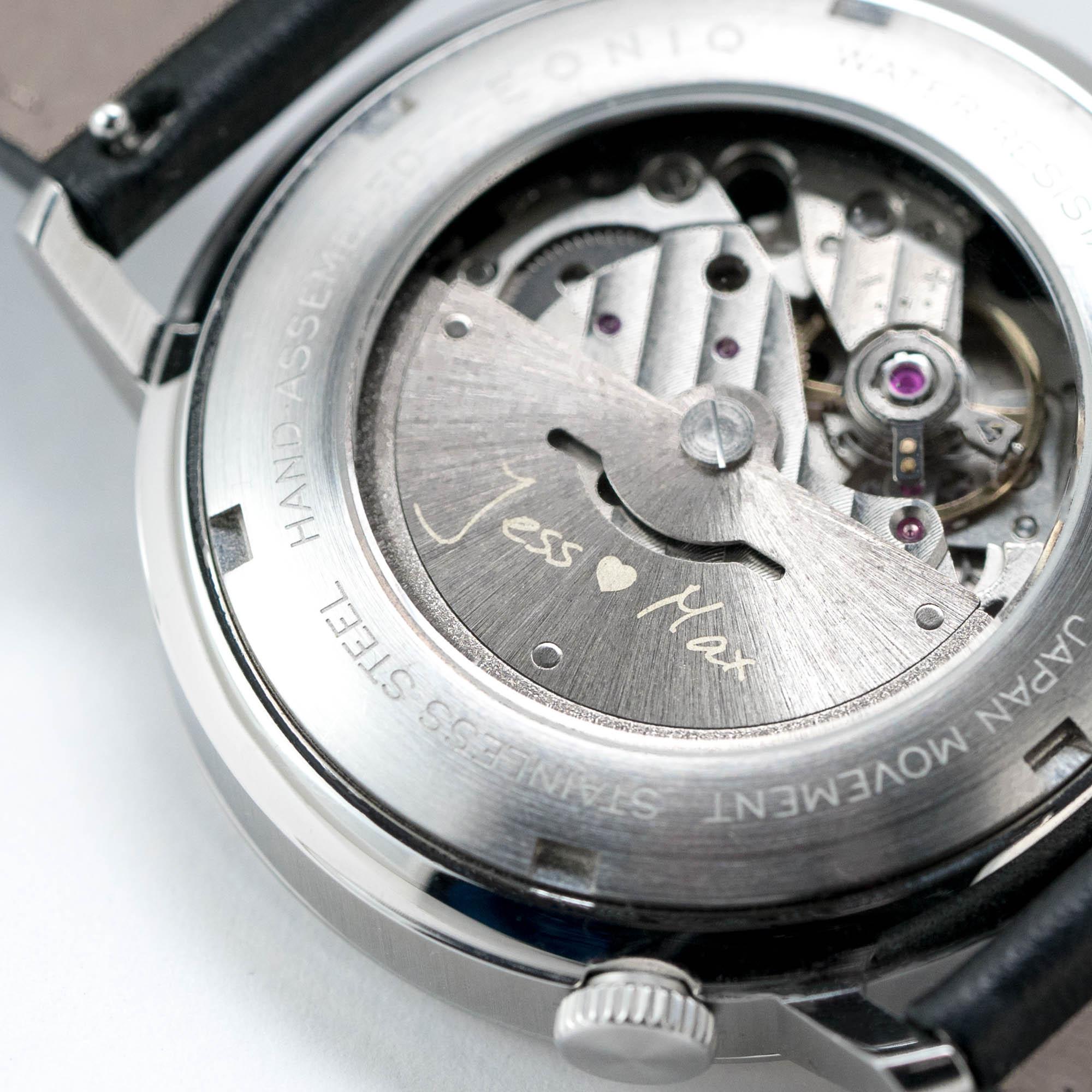 True Personalization - Rotor Engraving