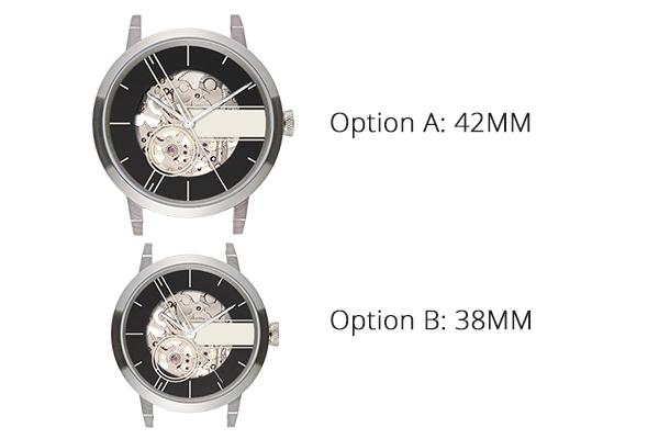 工作坊包括一對Pinot Blanc 情侶腕錶(可選38mm 或42mm 兩個sizes)