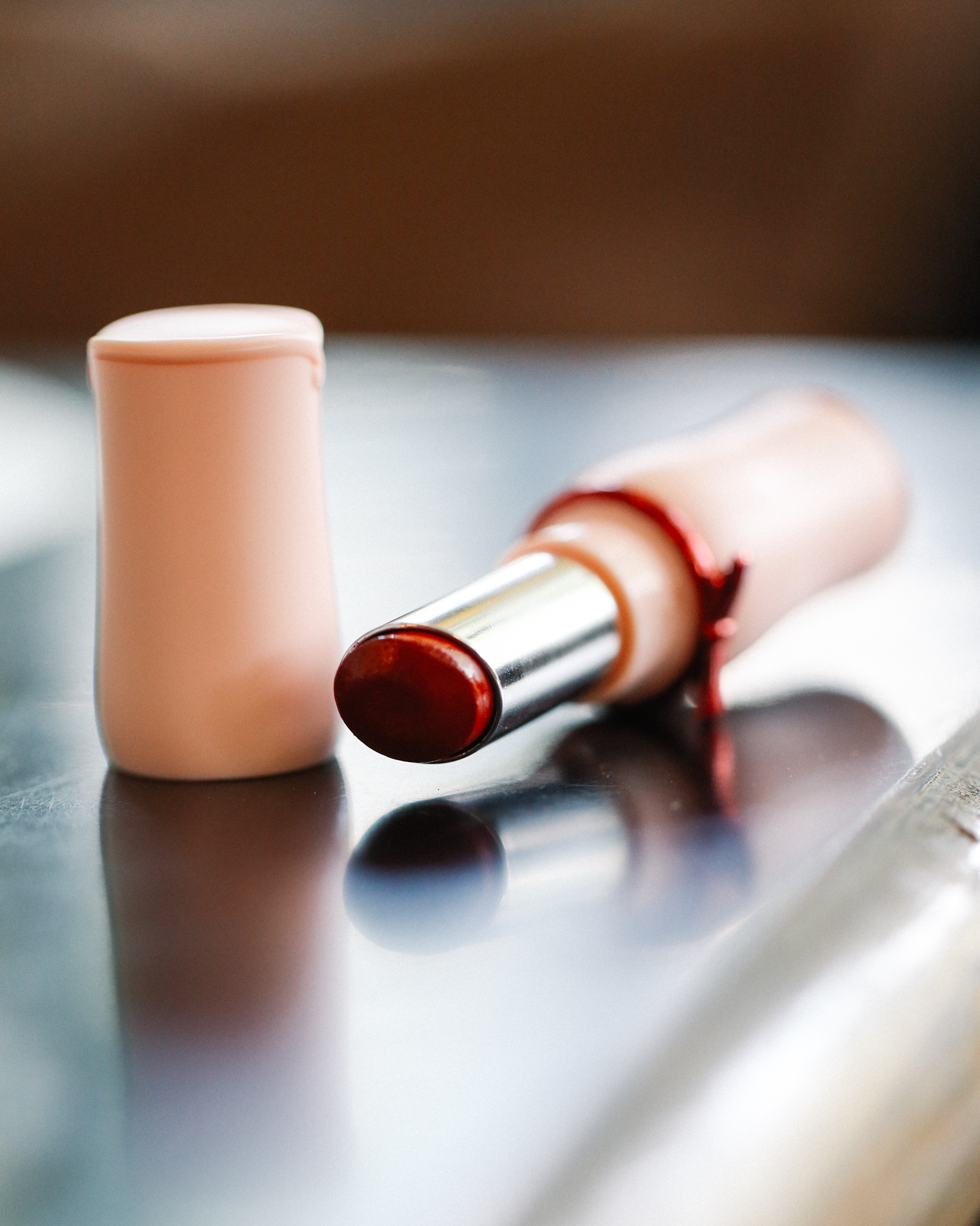 Red lipstick from Etude