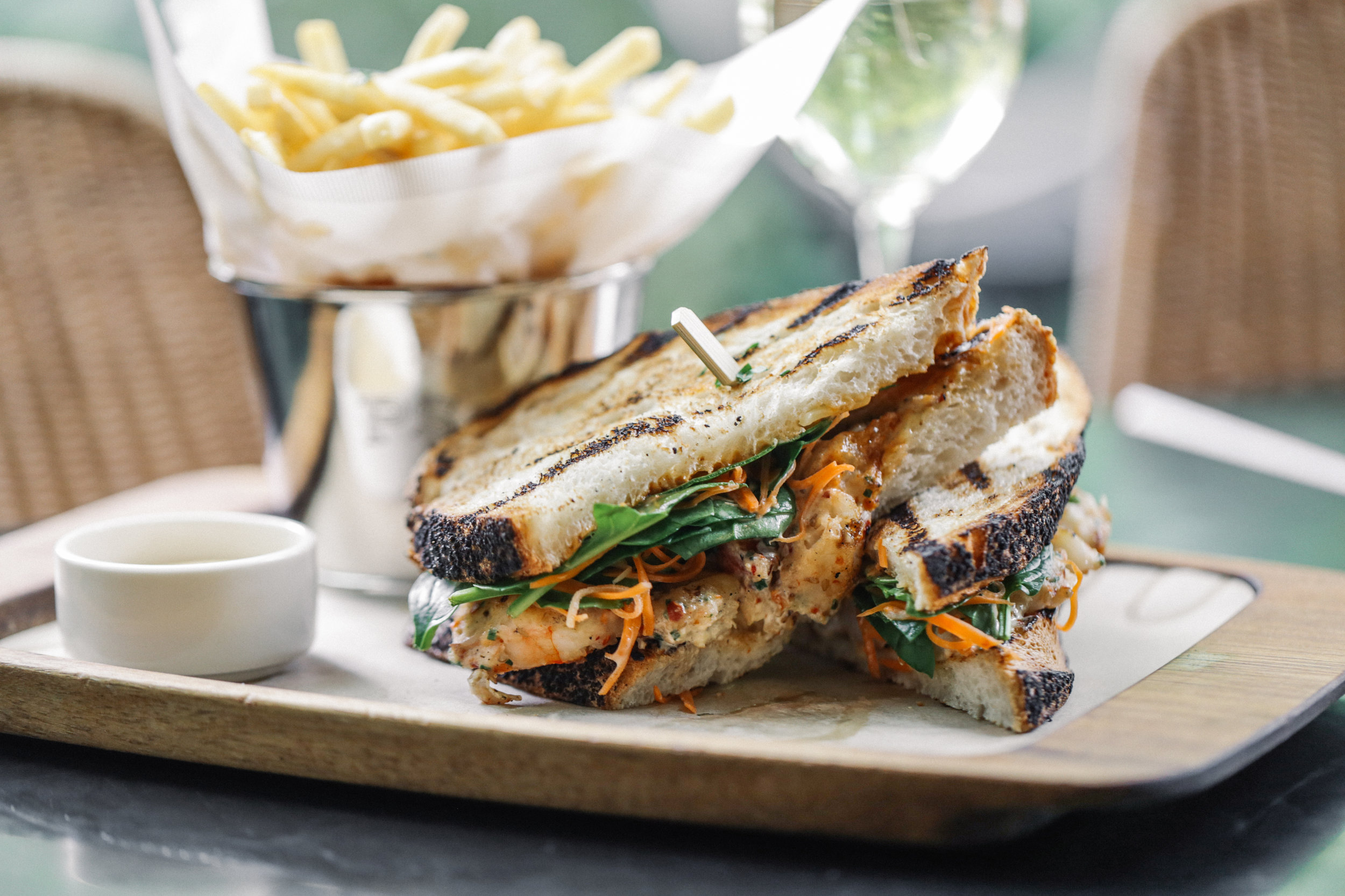 Chargrilled Chunky Prawn Sandwich