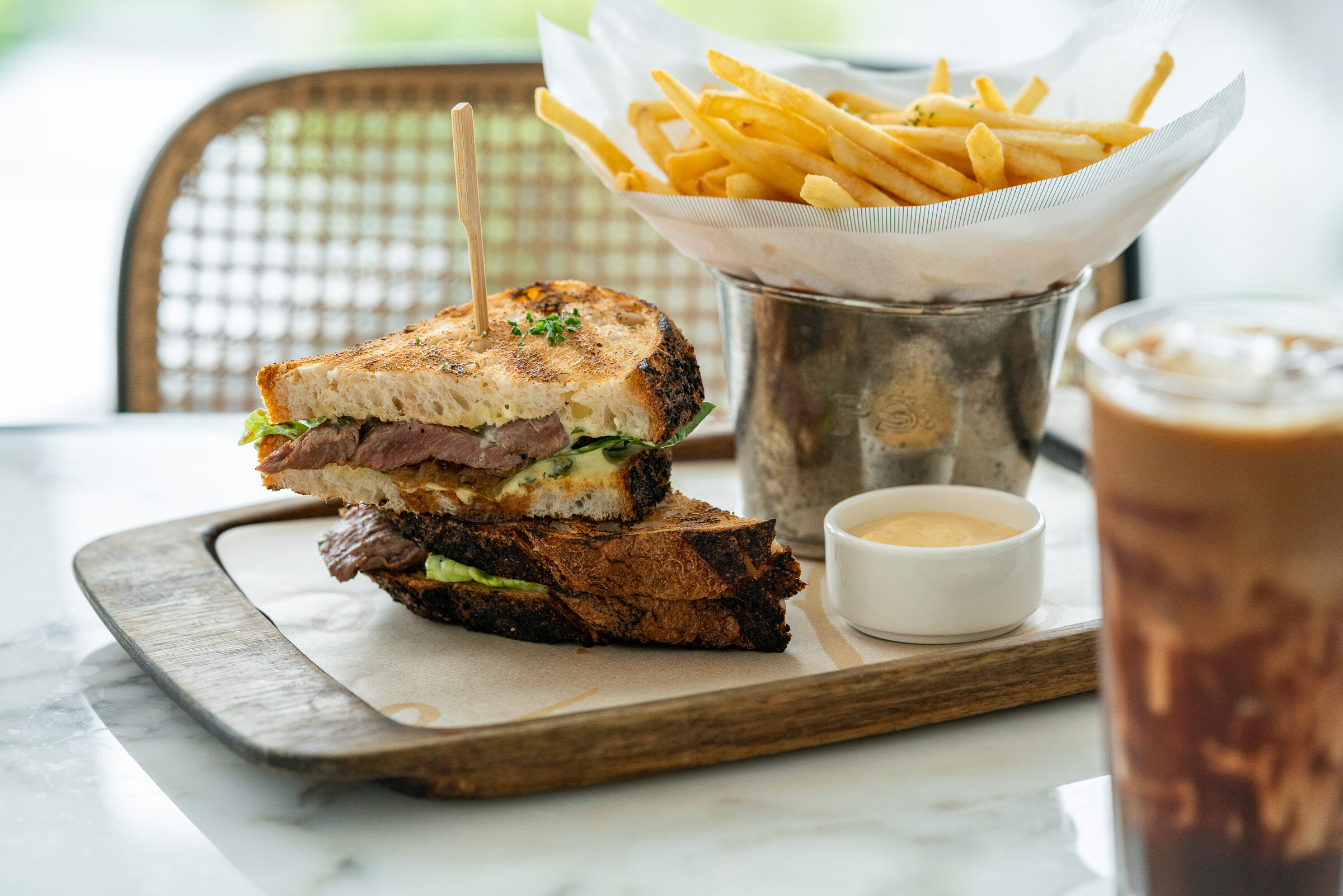 PS. Steak Sandwich / PS. 스테이크