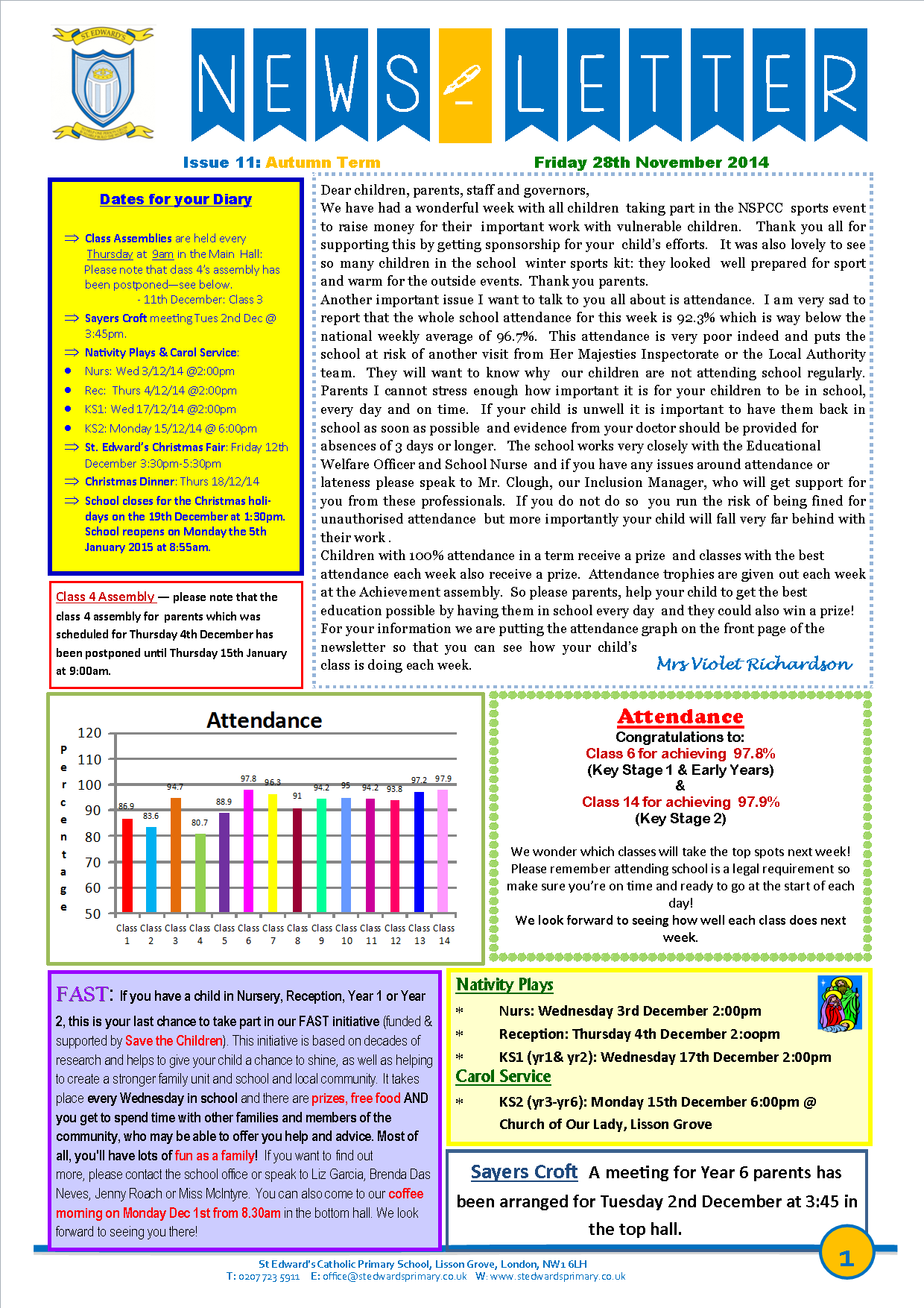 1St Edward's Newsletter Issue 11 28th November 2014.png