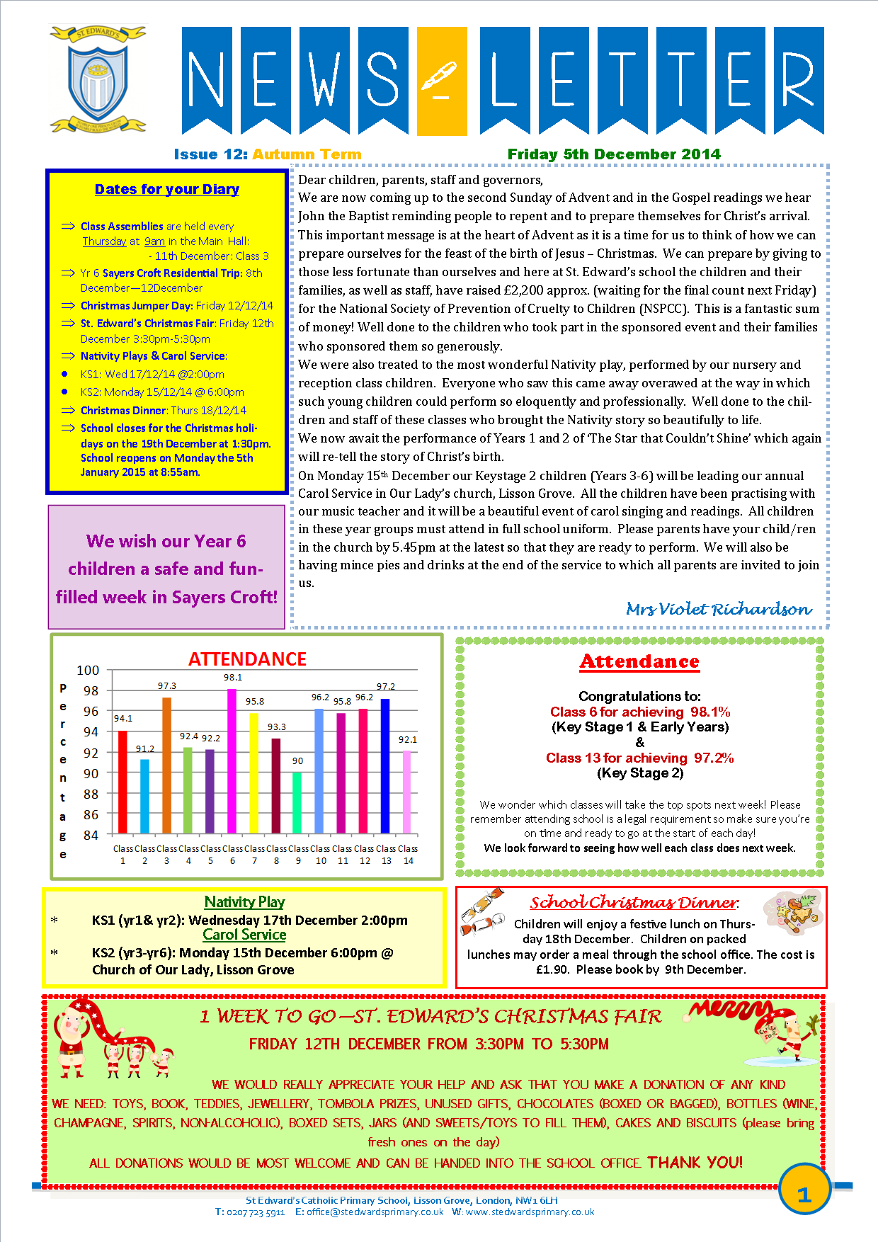 1St Edward's Newsletter Issue 12 5th December 2014.png