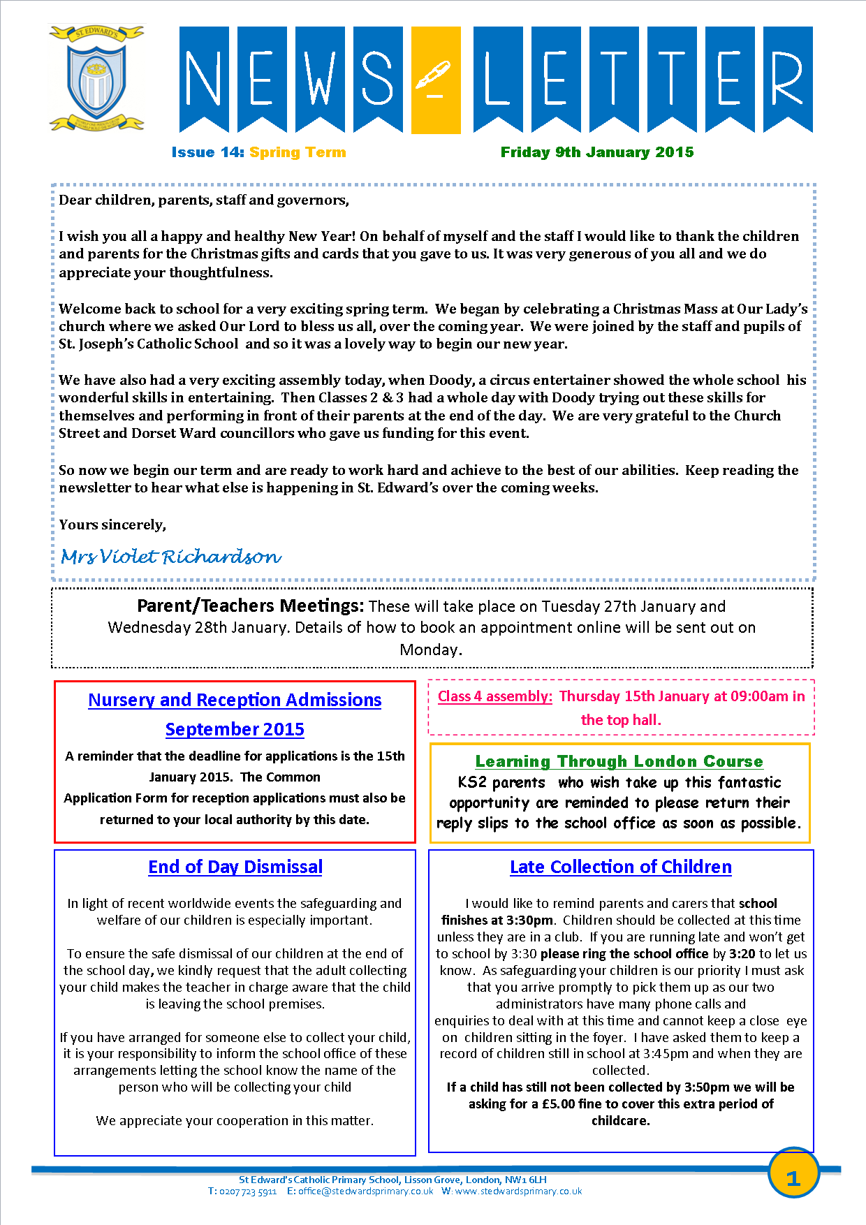 1St Edward's Newsletter Issue 13 12th December 2014.png