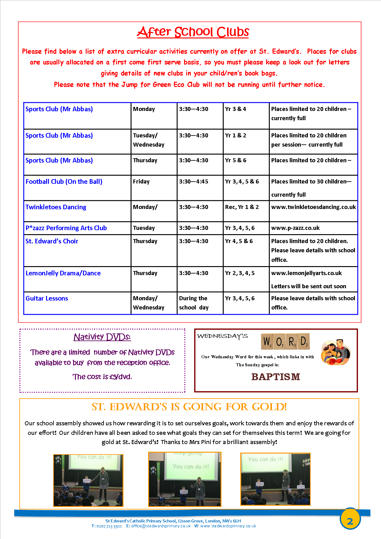 2St Edward's Newsletter Issue 13 12th December 2014.png