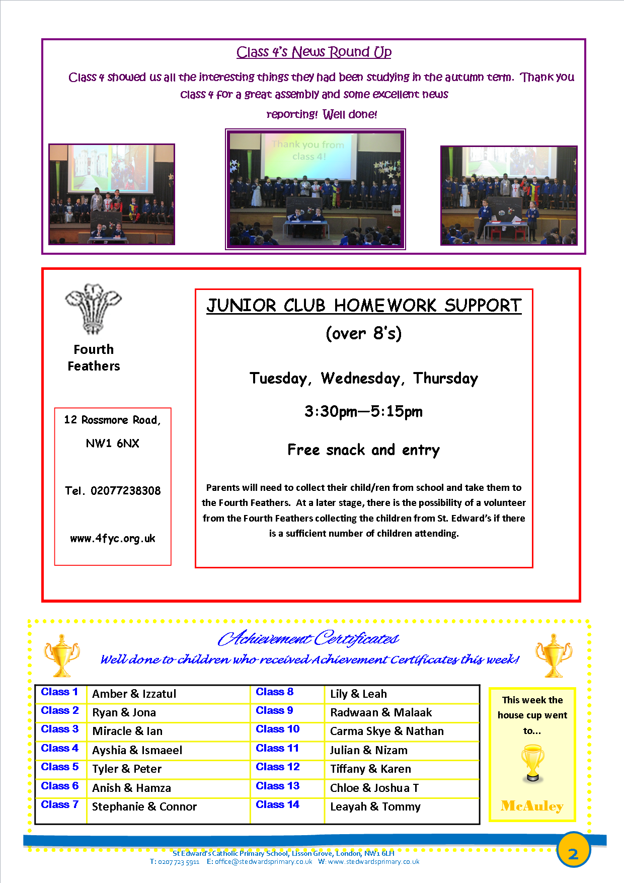 2St Edward's Newsletter Issue 15 16th January 2015.png